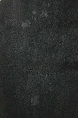クロムハーツ/ChromeHearts【RNCHSHRLNG】クロスボールボタンシャーリングムートンコート(1/ブラック×シルバー)【SJ02】【メンズ】【101191】【中古】bb82#rinkan*B