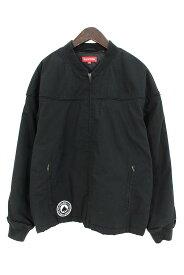シュプリーム/SUPREME ×スラッシャー/THRASHER 【17SS】【Poplin Crew Jacket】バックフォント刺繍ジャケット(M/ブラック)【BS99】【メンズ】【722091】【中古】bb212#rinkan*B