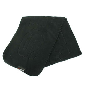 シュプリーム/SUPREME 【17AW】【Polartec Logo Scarf】ポーラテックロゴスカーフマフラー(ブラック)【BS99】【小物】【514091】【中古】[less]bb51#rinkan*S
