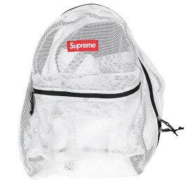 シュプリーム/SUPREME 【16SS】【Mesh Backpack】メッシュバックパック(ホワイト)【OM10】【小物】【609091】【中古】bb177#rinkan*B