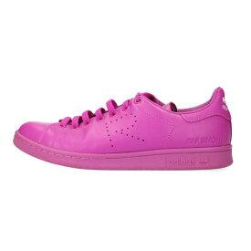 アディダス/adidas ×ラフシモンズ/RAF SIMONS サイズ:26.5cm 【S74593 STANSMITH】スタンスミスローカットスニーカー(ピンク)【BS99】【メンズ】【小物】【516012】【中古】bb297#rinkan*B