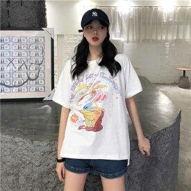 ● 大きいサイズ レデイース 春夏新作 732160 韓国 ファッション Tシャツ20200219