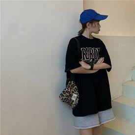 ● 大きいサイズ レデイース 春夏新作 732163 韓国 ファッション Tシャツ20200219