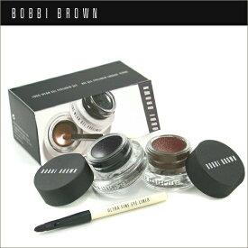 BOBBI BROWN ボビイブラウン シマー ロングウェア ジェルアイライナーセット 2色 筆付き Shimmer LONG WEAR GEL EYELINER SET