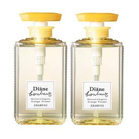【2本セット】【送料無料】ダイアン ボヌール オレンジフラワーの香り モイストリラックス シャンプー 500ml ×2セット Diane Bonheur オーガニック ボタニカル