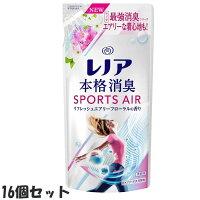 【16個セット】P&Gレノア本格消臭スポーツ・エアーリフレッシュエアリーフローラルの香りつめかえ用400mL×16個セット