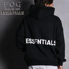 「BOXY LOGO プルオーバーパーカー」FOG ESSENTIALS パーカー エフオージー エッセンシャルズ PULLOVER HOODIE Fear of God フィアオブゴッド Pacsun パクサン FOG ESSENTIAL XS-XL