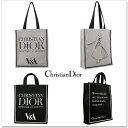 Christian Dior トート 即納 クリスチャンディオール V&A美術館 トートバック キャンバス エコバッグ マザーズバッグ …