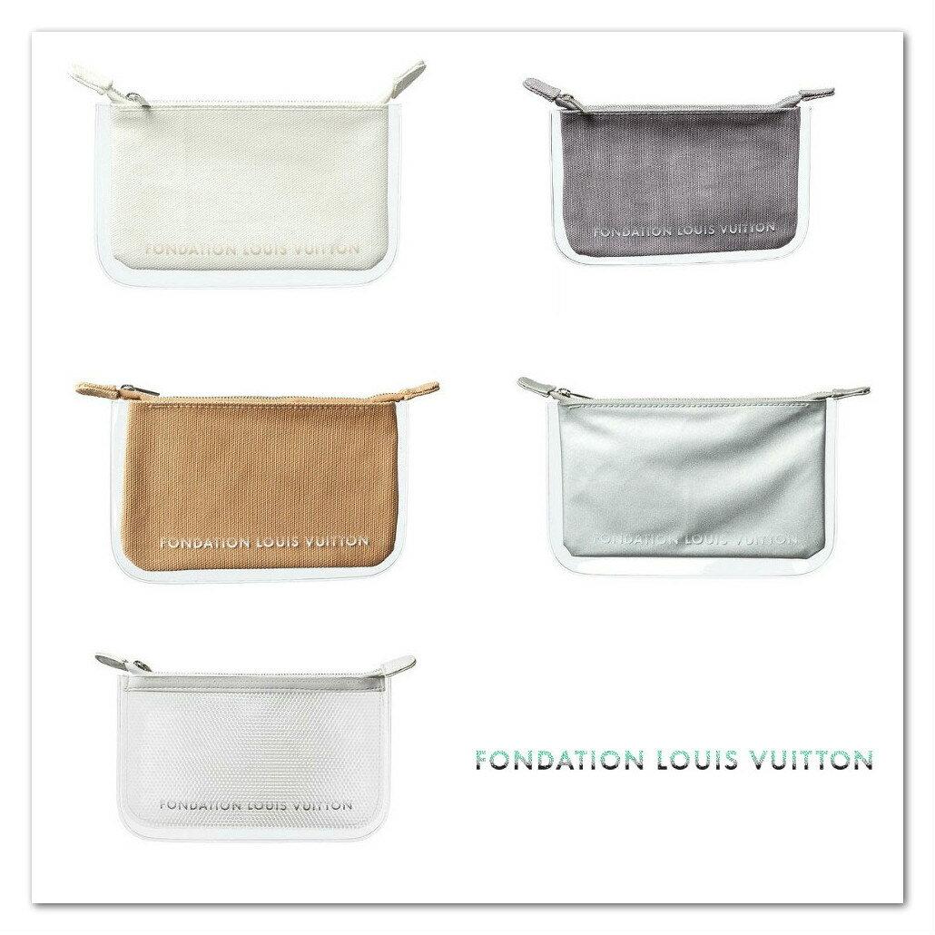 LOUIS VUITTON ルイヴィトン美術館 FONDATION LOUIS VUITTON フォンダシオン ルイ・ヴィトン ポーチ 化粧 小物入れ シンプル レディース メンズ