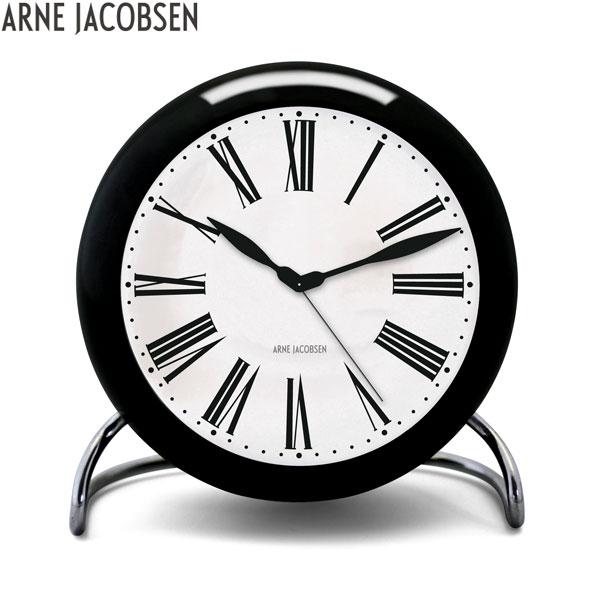 【2,000円OFFクーポン】アルネ ヤコブセン[ARNE JACOBSEN]テーブルクロック[TABLE CLOCK]AJ Table Clock 43671 Roman 北欧 おしゃれ 置き時計 置時計 シンプル【腕時計 時計】【あす楽】【ギフト プレゼント】