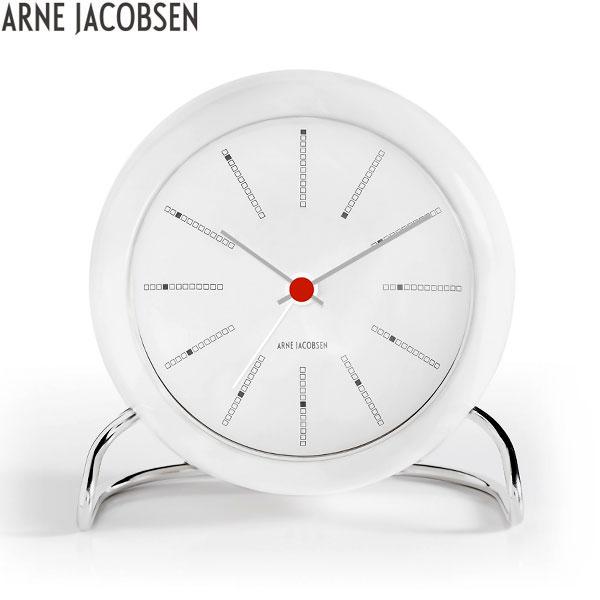 【2,000円OFFクーポン】アルネ ヤコブセン[ARNE JACOBSEN]テーブルクロック[TABLE CLOCK]AJ Table Clock 43675 Bankers 北欧 おしゃれ 置き時計 置時計 シンプル【腕時計 時計】【あす楽】【ギフト プレゼント】
