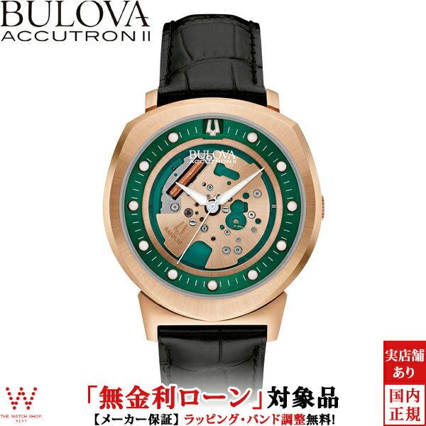 【2,000円OFFクーポン有】 【無金利ローン可】 ブローバ ブローバ アキュトロン2 [BULOVA ACCUTRON II] ALPHA [アルファ] 97A122 カーフレザー 腕時計 時計 [ラッピング ギフト プレゼント]