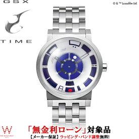【400円OFFクーポン有】【無金利ローン可】 ジーエスエックス [GSX] GSX221SWS-1 SMART no,107 スター・ウォーズ [STAR WARS™] アールツー・ディーツー [R2-D2™] 300本限定 メンズ 腕時計 時計 [誕生日 プレゼント 贈り物 ギフト]