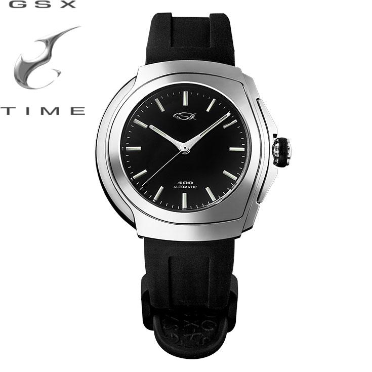 ジーエスエックス[GSX] ショッピングローン無金利対象品 GSX400SBK 時計 トノー型 ラウンド型 メンズ【腕時計 時計】 【ギフト プレゼント】【あす楽】