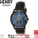 ヘンリーロンドン [HENRY LONDON] ムーンフェイズ [MOONPHASE] HL35-LS-0324 レザー 35mm レディース 腕時計 時計 [誕生日 プレゼント 贈り物 ギフト]