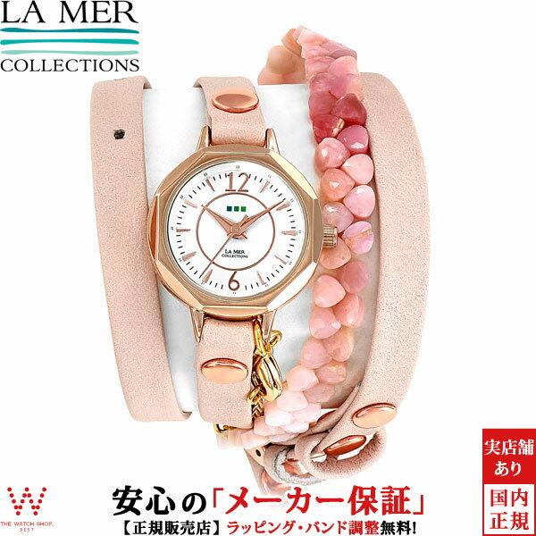 ラメール コレクションズ [LA MER COLLECTIONS] Italy Collection THE PORTIA LAMER806 レディース ラムレザー 腕時計 時計 [ラッピング ギフト クリスマス プレゼント]