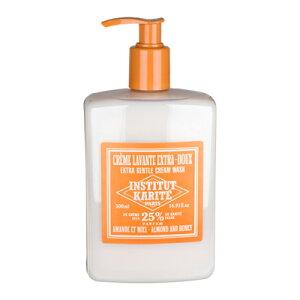 INSTITUT KARITE(インスティテュートカリテ)25% Extra Gentle Cream Wash(クリームウォッシュ)500ml Almond Honeyアーモンドハニー