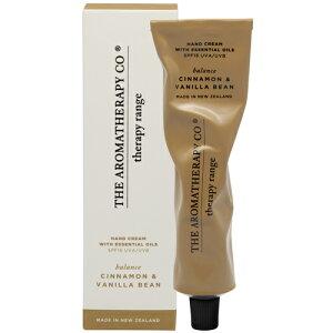 アロマセラピーカンパニー セラピーレンジ ハンドクリーム75ml Cinnamon & Vanilla Beans シナモン&バニラビーンズ Balance(バランス/調和)The Aromatherapy Company Therapy Range Hand Cream