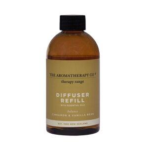 アロマセラピーカンパニー セラピーレンジ ディフューザーリフィル250ml Cinnamon & Vanilla Beans シナモン&バニラビーンズ Balance(バランス/調和)Essential Oil Diffuser Refill The Aromatherapy Company Therapy Range