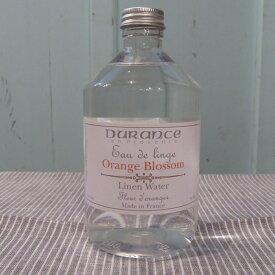デュランス (DURANCE) リネンウォーター500ml フラワーオレンジ(1805)
