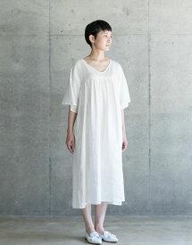 fog linen workミリアム ワンピース ホワイトWHITE(フォグリネンワーク)【一部地域送料無料】