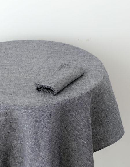 Fog Linen Work Linen Tablecloth S Linen Denim