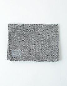 フォグリネンワーク(fog linen work) リネンキッチンクロス ヘリンボーンブラック