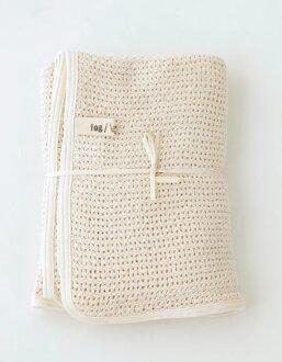 霧亞麻工作嬰兒毯