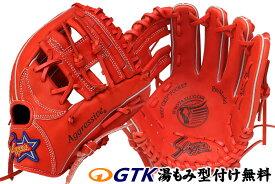 久保田スラッガー 少年軟式用グローブ KSN-J6 Fオレンジ ジュニア用では中間サイズモデル エッジ付きウェブの内野向けモデル J号球対応 学童 子供用 プレゼント 野球用品 GTK