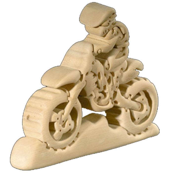 【送料無料】 お買い得商品 ドルフィ イタリア製 木製パズル 「クロスバイク」   無垢材 3Dパズル 着色料未使用 ラッピング無料 ハンドメイド 手作り プレゼント ギフト 出産祝い 誕生日プレゼント 玩具 お子様 知育玩具 クリスマス クリスマスプレゼント