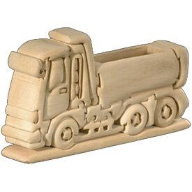 ラッピング無料 立体パズル 木製 ドルフィ DOLFI イタリア製 「トラック」 無垢材 手作り 木彫り おもちゃ クリスマス 誕生日 プレゼント ギフト 男の子 女の子 車や動物や恐竜 かわいいデザイン 軽量で柔らかトゲが出ない西洋菩提樹 4才以上対象