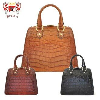 puratejihandobaggu本皮革purateshi Pratesi意大利的皮革礼物k151-p