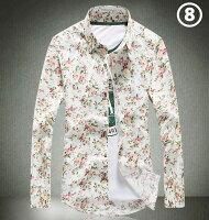メンズ爽快シャツ人気美品五分丈リネンシャツストライプ麻シャツ半袖tシャツお洒落リネンシャツ