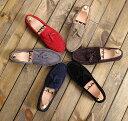 イギリス風 紳士靴 上品 大人気 デッキシューズ モカシン メンズカジュアルシューズ 5色