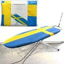 アイロン台スペアカバー スウェーデン(作業面が40×120cmまでのアイロン台に対応)(北欧 アイロン台カバー 舟型 舟形 …
