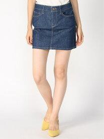 【SALE/63%OFF】(W)SOPHIA DENIM MINI SKIRT GUESS ゲス スカート デニムスカート ネイビー【RBA_E】[Rakuten Fashion]