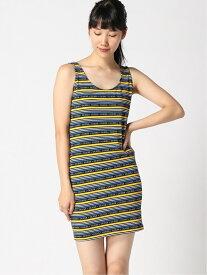 【SALE/67%OFF】(W)NOLAN DRESS GUESS ゲス ワンピース キャミワンピース ネイビー レッド【RBA_E】[Rakuten Fashion]