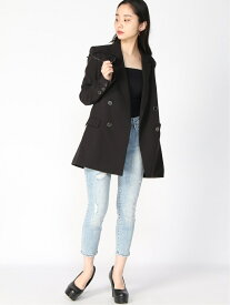【SALE/50%OFF】(W)Cheryl Oversized Blazer GUESS ゲス コート/ジャケット テーラードジャケット ブラック ブルー【RBA_E】【送料無料】[Rakuten Fashion]