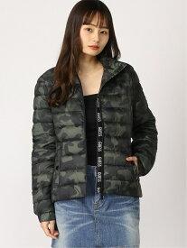 【SALE/67%OFF】(W)ADEN LOGO PLACKET PACKABLE GUESS ゲス コート/ジャケット ブルゾン カーキ【RBA_E】【送料無料】[Rakuten Fashion]