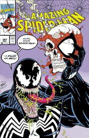 AMAZING SPIDER-MAN #347 POSTER<ポスターはアメコミ、フィギュア類と同梱不可のため、別途送料のご負担いただきます。商品説明を必ずお読みください。>