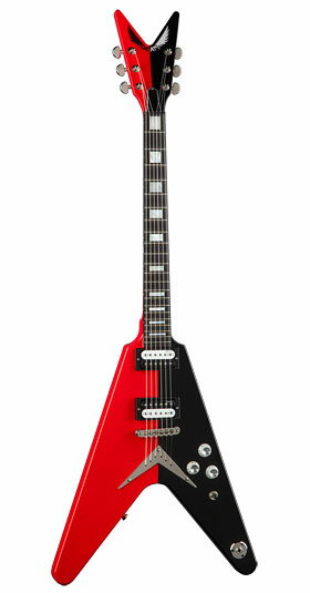 DEAN USA(ディーン)Michael Schenker V Red/Black Limited 50 PC