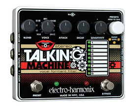 Electro-Harmonix(エレクトロ・ハーモニックス)Stereo Talking Machine Vocal Formant Filter