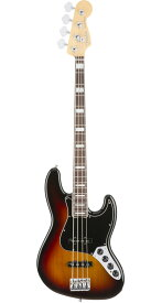 Fender USA(フェンダー)American Elite Jazz Bass 3-Color Sunburst(Rosewood Fingerboard)