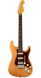 Fender USA(フェンダー)American Ultra Stratocaster HSS Aged Natural(Ash)