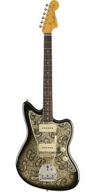Fender Custom Shop 2019 Limited Edition Paisley Jazzmaster Journeyman Relic Black Paisley