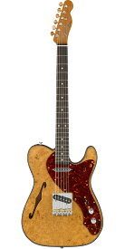 Fender Custom Shop 2019 Artisan Series Maple Burl Thinline Telecaster NOS Aged Natural