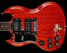 """Gibson Custom Shop Tony Iommi """"Monkey"""" 1964 SG Special Replica Left-Handed Aged/Signed"""
