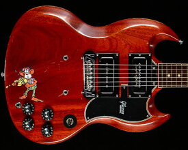 """Gibson Custom Shop Tony Iommi """"Monkey"""" 1964 SG Special Replica Right-Handed Aged/Signed"""