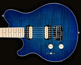 MUSICMAN(ミュージックマン)Axis Super Sport Left-Handed Matching Head Tremolo Balboa Blue Flame