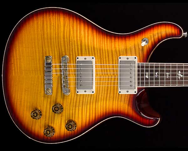 PRS(Paul Reed Smith)Private Stock McCarty 594 Graveyard Limited Honey Gold with Dark Cherry Smoked Burst 2018